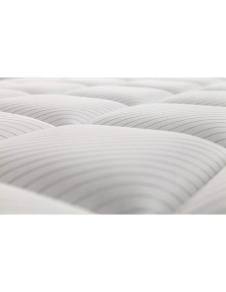 Detalle del acolchado del colchón Triumph de Dunlopillo.