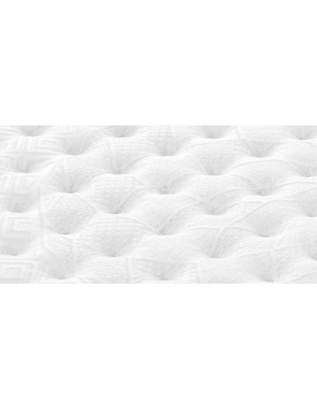 Detalle del tejido del colchón Royal V8 de Sonpura.