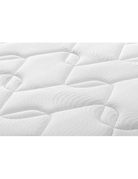Detalle del tejido del colchón Prisma V5 de Sonpura.