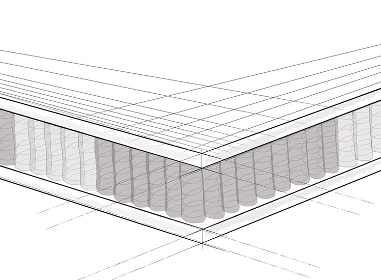 Muelles Bonelle garantizan una perfecta estabilidad del colchón